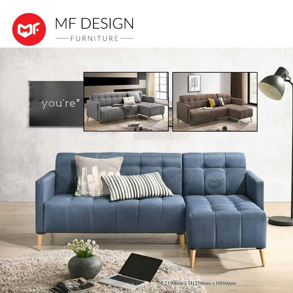 Mf Design Jorden L Shape Sofa