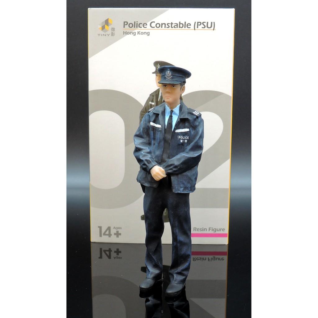 TINY Hong Kong 07 version 1//18 Police constable PTU series Resin Figure Model