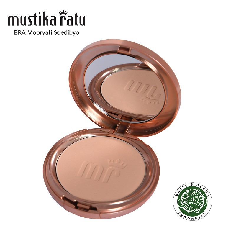 Mustika Ratu Beauty Queen Ultra Radiant Two Way Cake - Nude Beige (14g)