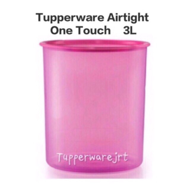 1 New Tupperware Tuppercare Wipes Tissue Dispenser Box 1.5L Pink Limited Edition