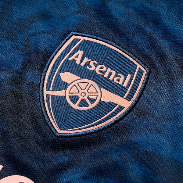 Arsenal Men 3rd Season 20/21 AEROREADY Fans Issue Jersey with EPL #20 MUSTAFI + Patch Printing