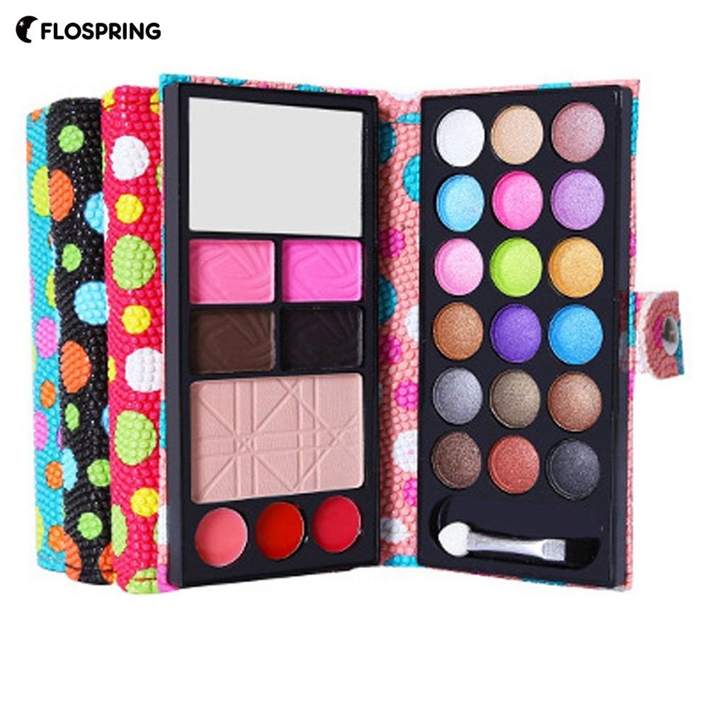 POPFEEL120 Colors Eyeshadow Palette Neutral Shimmer Matte