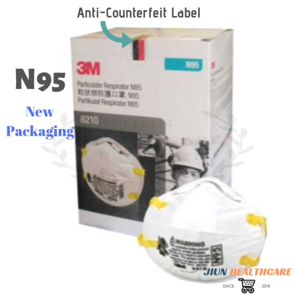 Haze Face Mask Piece Anti 1 Respirator Particulate 8210 N95 3m