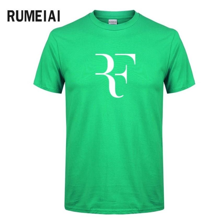 18dac47e47f5 New Summer Roger Federer Men T Shirt Rf Raglan T Shirt Hip Hop Tops Tees