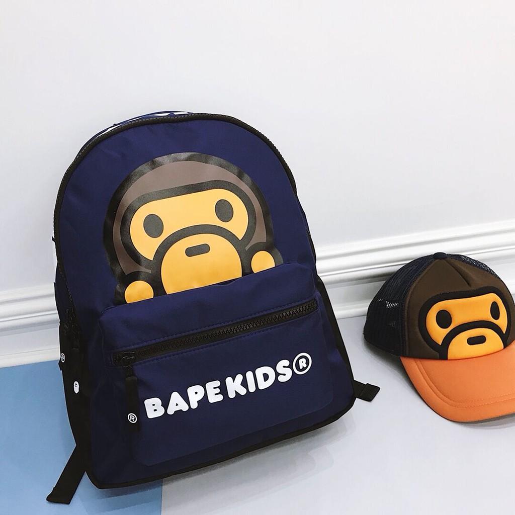 2019 New A Bathing Ape Bape LOGO CLEAR DAY PACK Kids Boy Girls Backpack TPU Bag