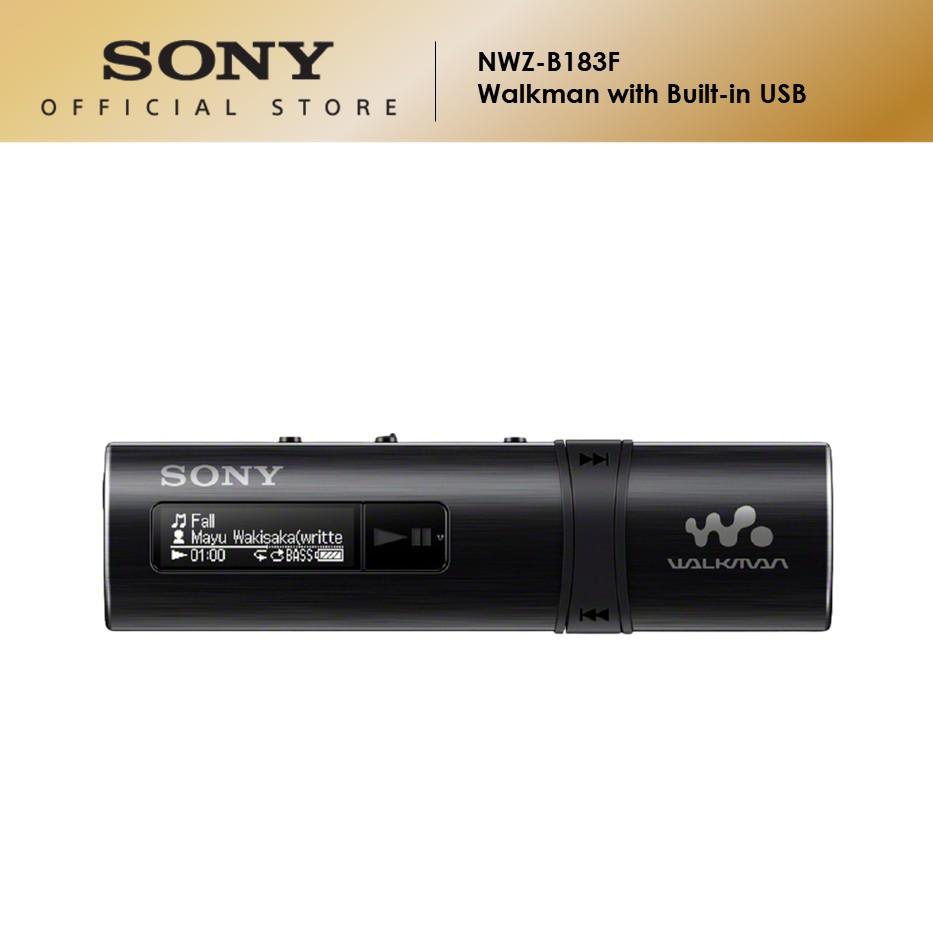 Sony NWZ-B183F Walkman with Built-In USB (4GB)