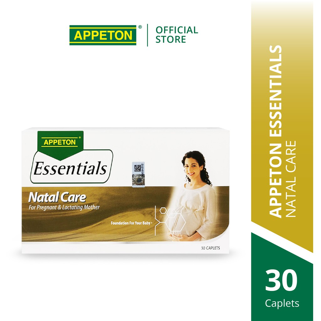 APPETON Essential Natal Care Supplement for Pregnant and Lactating Mothers (30's)