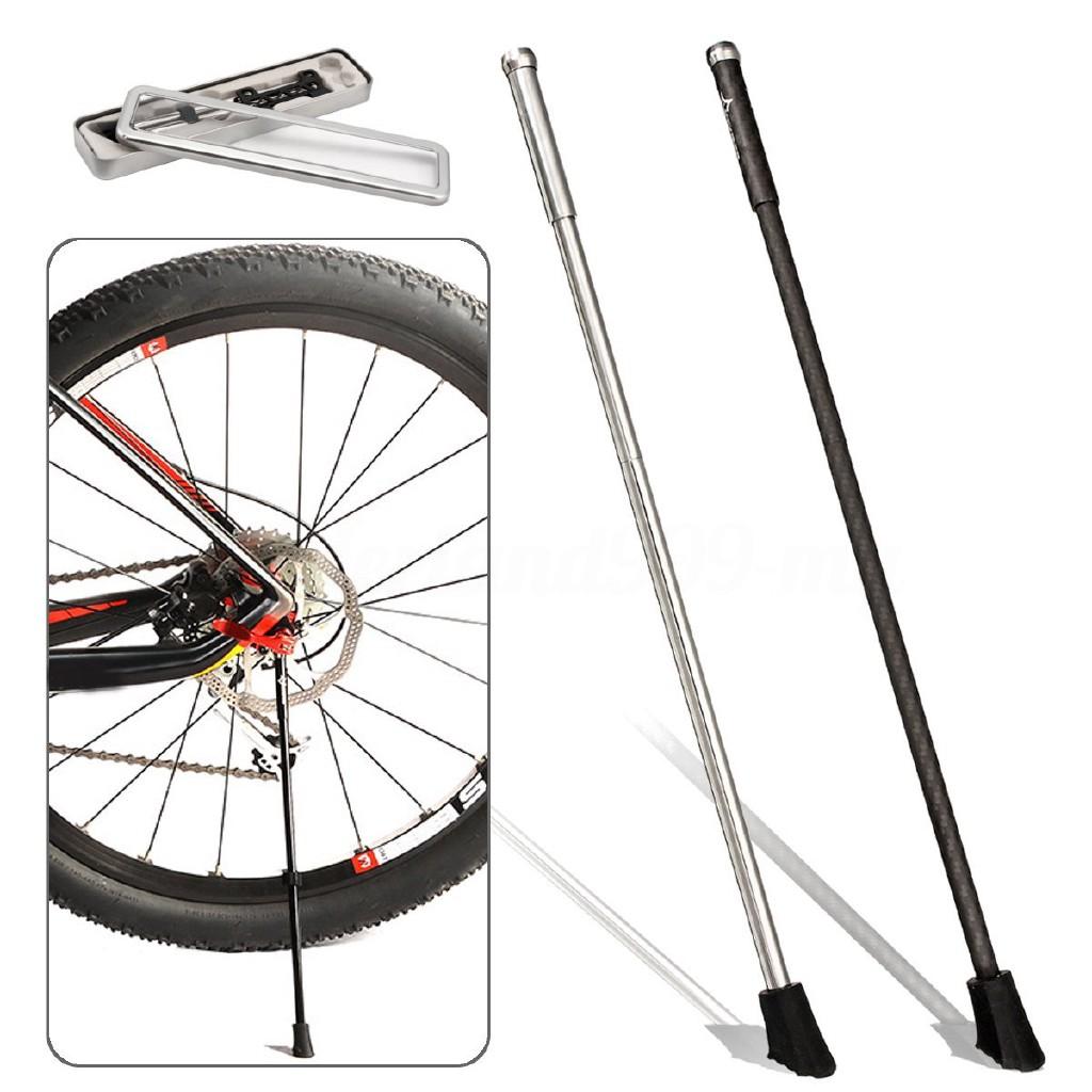 New portable mtb bike stand foldable carbon bike kickstand  road bike accessoy