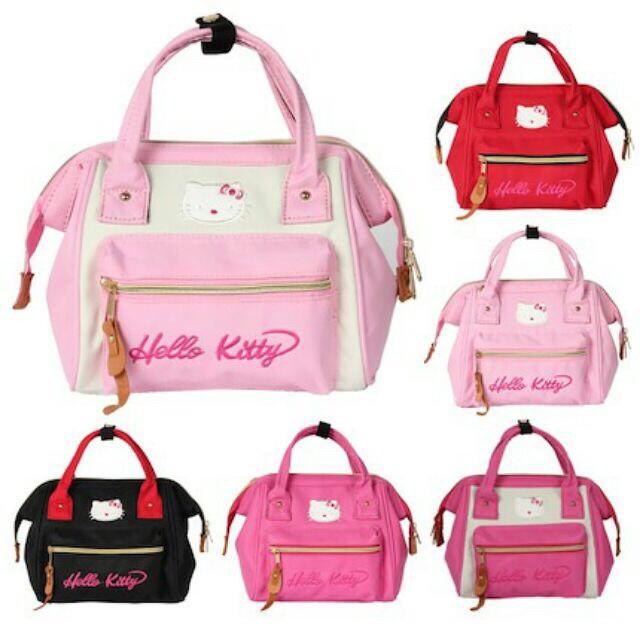 efaa40b602 🎁Ready Stock🎁Japan Anello Bag  Hello kitty handbag Backpack Slingbag 3  way👍