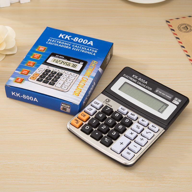 800A办公用品计算机 桌面带响计算器 电子计算器 商务会计计算器calculator