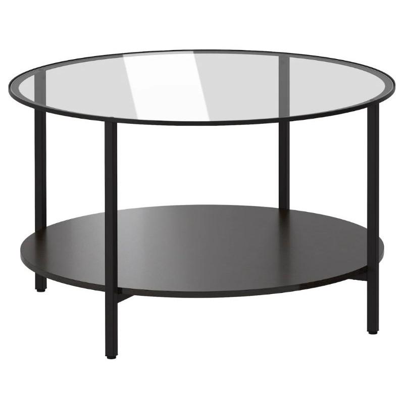 Ikea Vittsjo Coffee Table Black Brown Glass 75 Cm Seetracker Malaysia - White Coffee Table With Storage Ikea