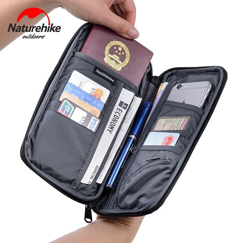 ff4174a706c6b3 Naturehike Travel Wallet Bag Passport Holder Waterproof Men Women Cash Purse  | Shopee Malaysia