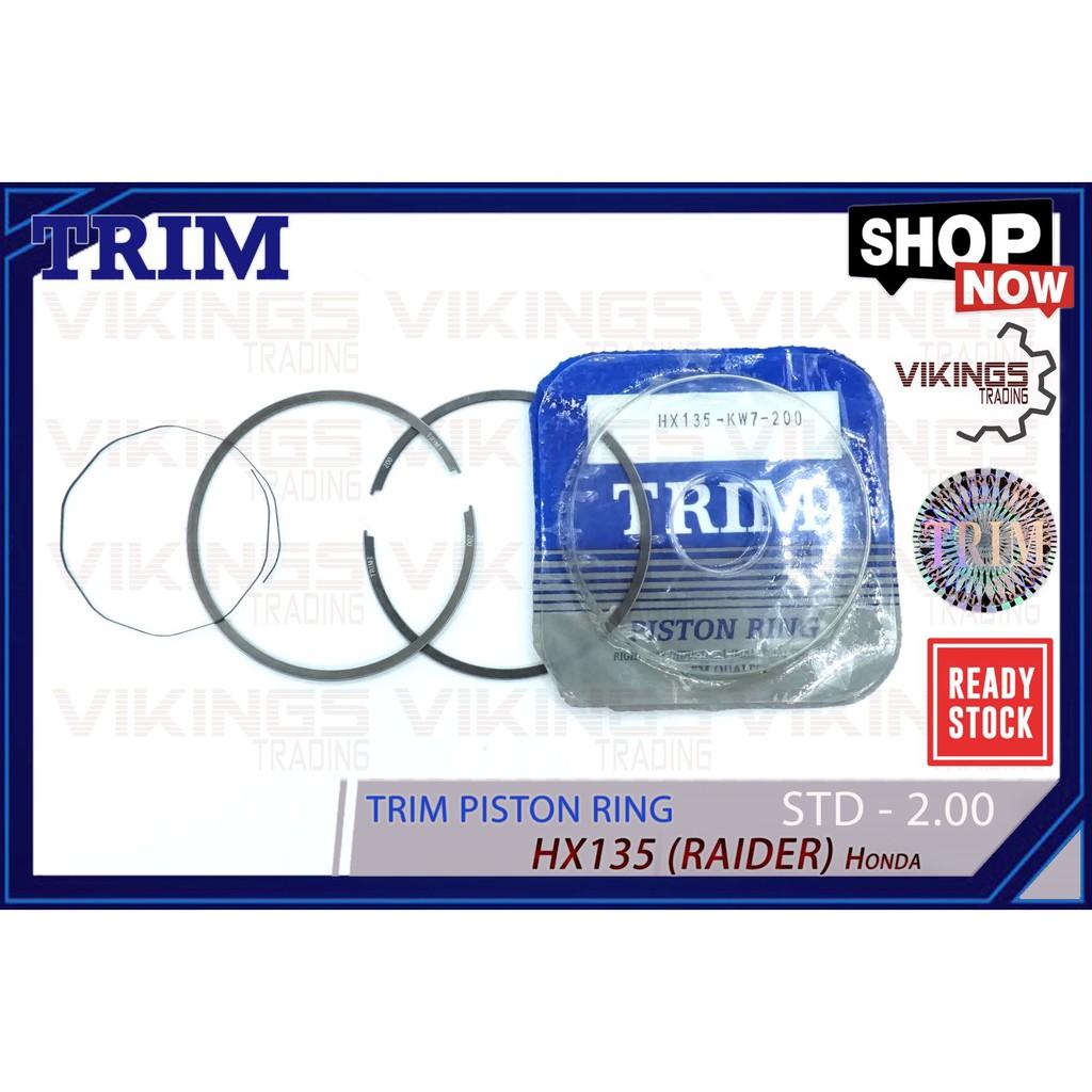 RAIDER HX135 PISTON RING TRIM MALAYSIA HONDA