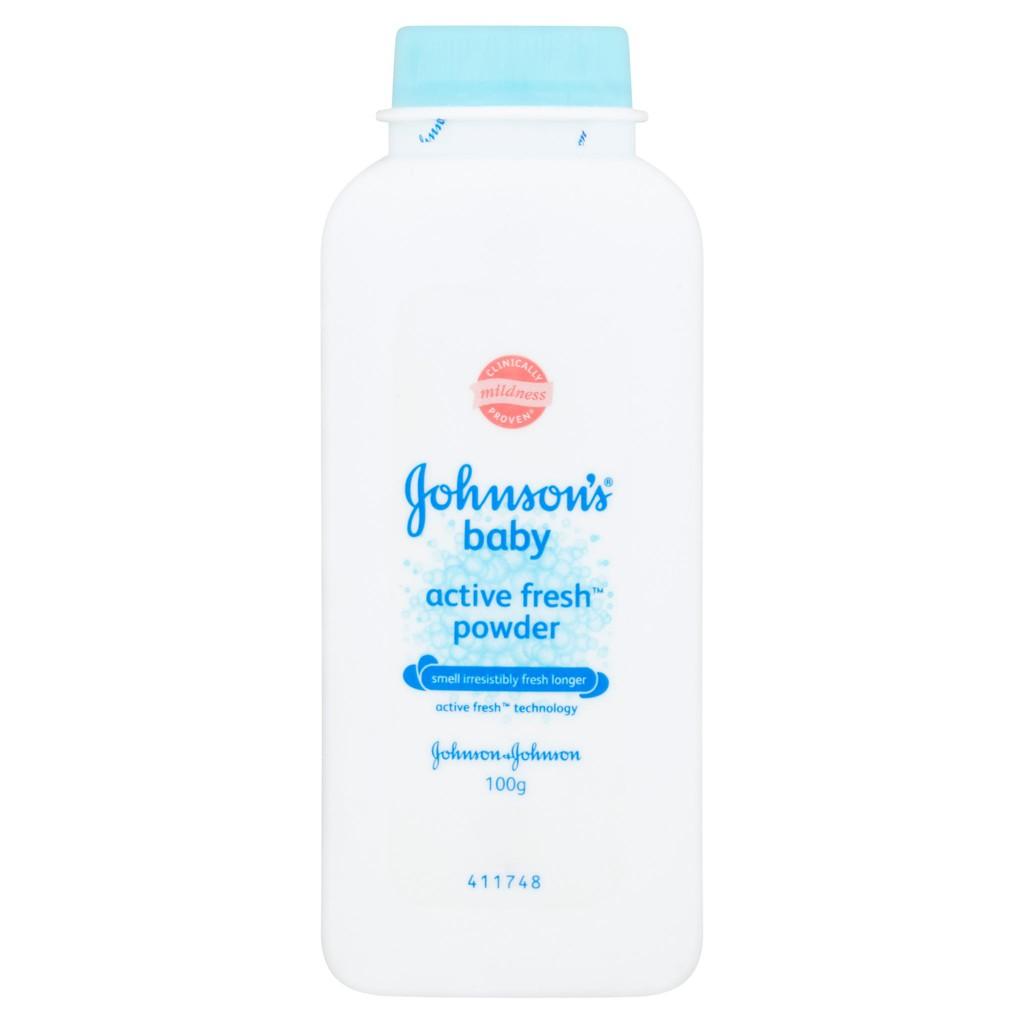 Johnson's Baby Powder - Active Fresh (100g)