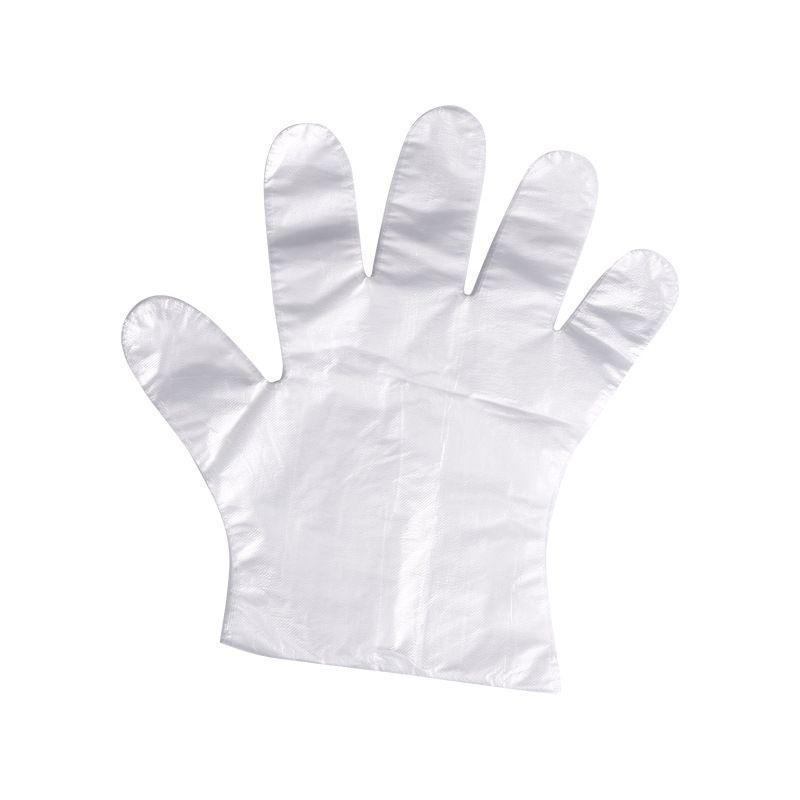 【Ready stock】Disposable gloves Barbecue hot pot (200pcs)一次性手套 烧烤火锅店盒装抽取式透明一次性PE手套 现货