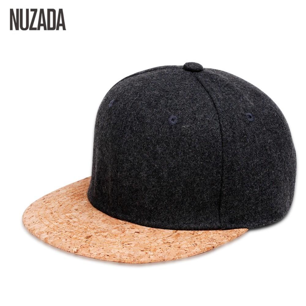 731a5ced NUZADA Fashion Men Women Hat Baseball Cap Hip Hop Snapback Simple Classic  Caps   Shopee Malaysia