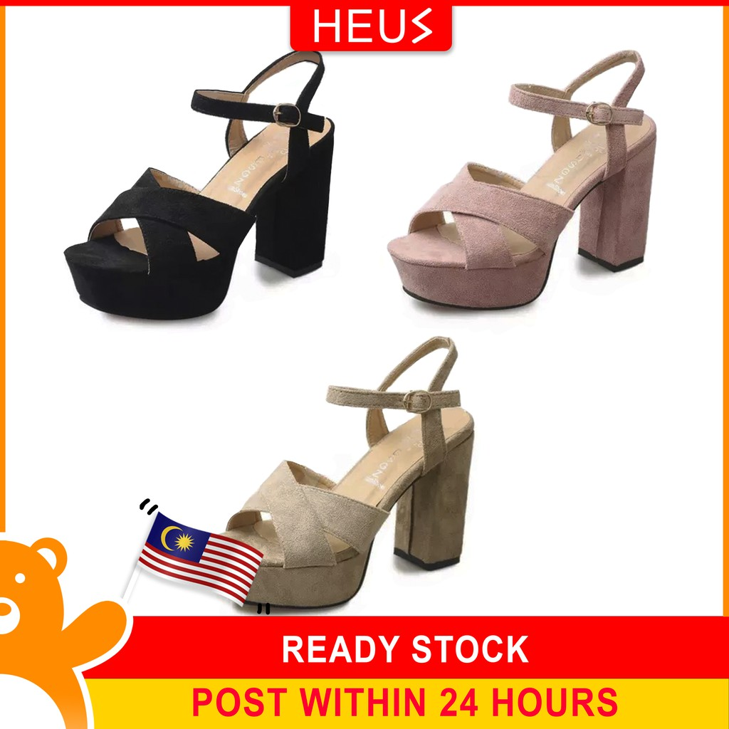 3c51d06a55cc  READY STOCK Sexy Women high heels pointed shoes(11 cm)
