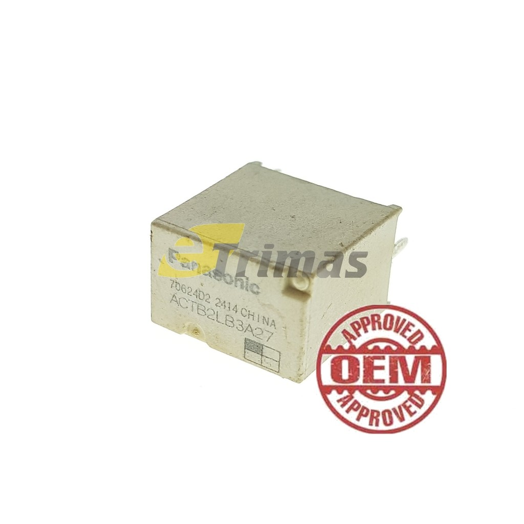 Actb2lb3a27 Panasonic Automotive Micro Relay 5 Pin 12v Shopee Malaysia 24v Bosch