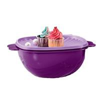 Tupperware One Touch Servalier Bowl Purple 3L (1 pc) / OT