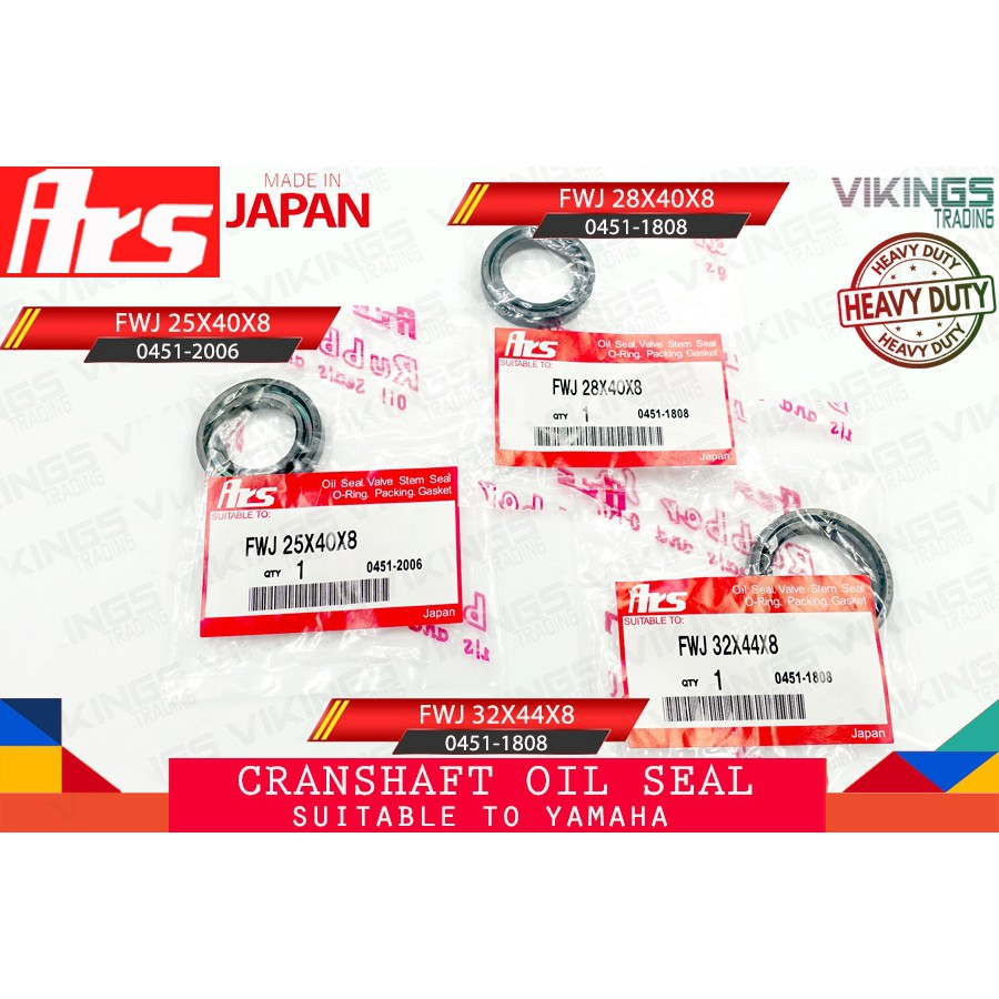 Y125Z 125Z RXK CRANSHAFT OIL SEAL COMBO SET 25X40X8 28X40X8 32X44X8