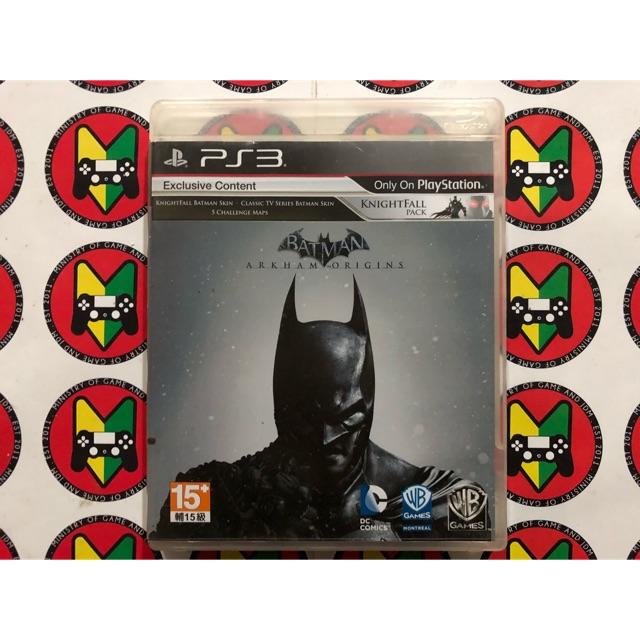 [USED]PS3 Batman Arkham Origins