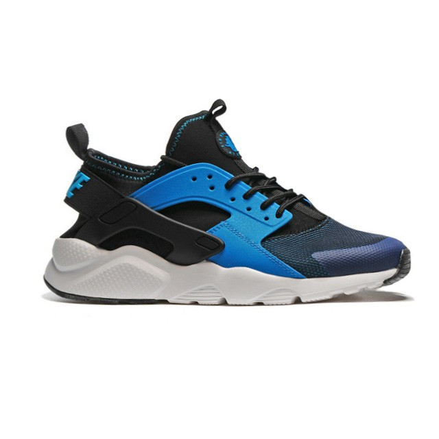 fresh styles look for great look Nike Air Huarache Run Ultra Black Blue White Men