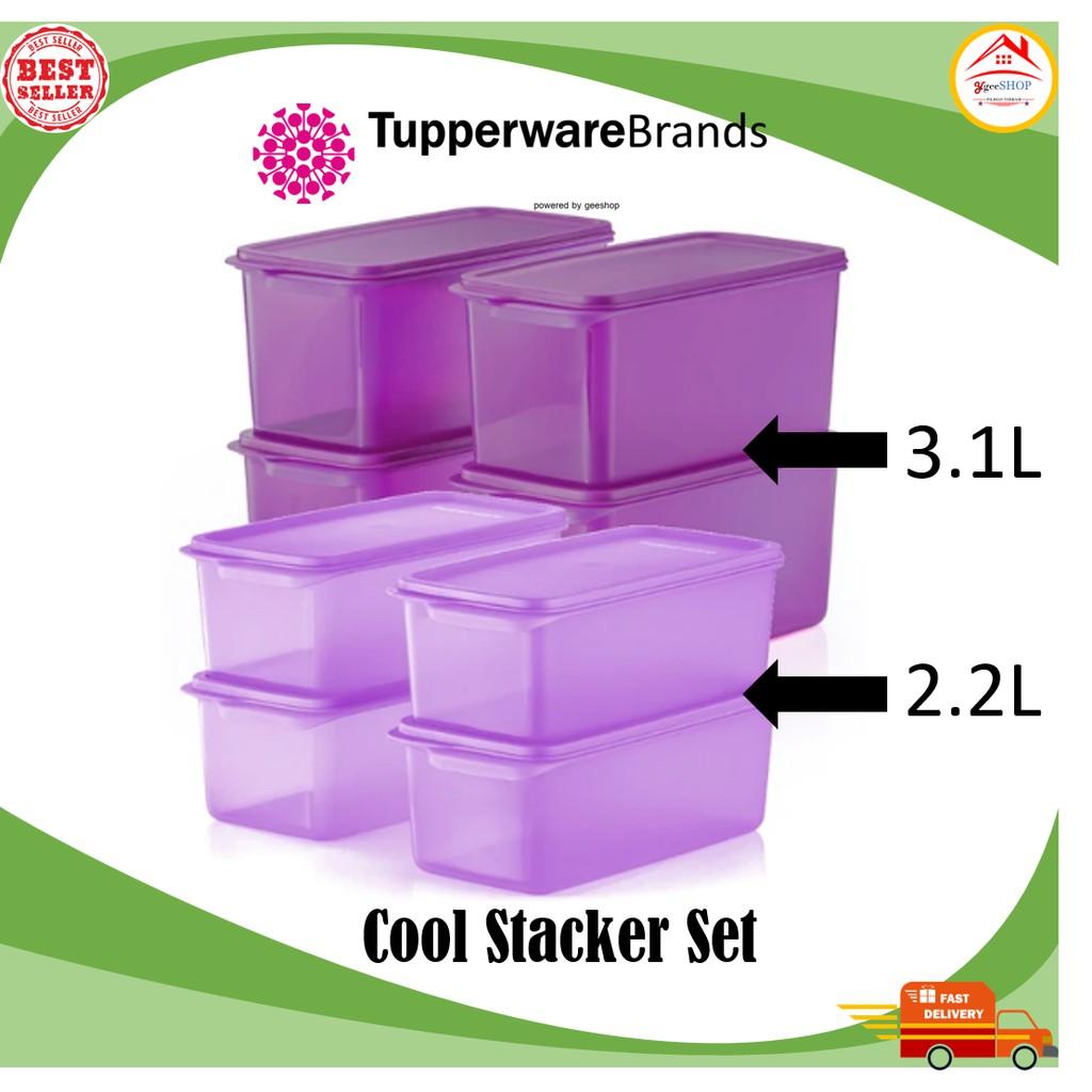 Tupperware Cool Stacker Set(100% Original Tupperware)