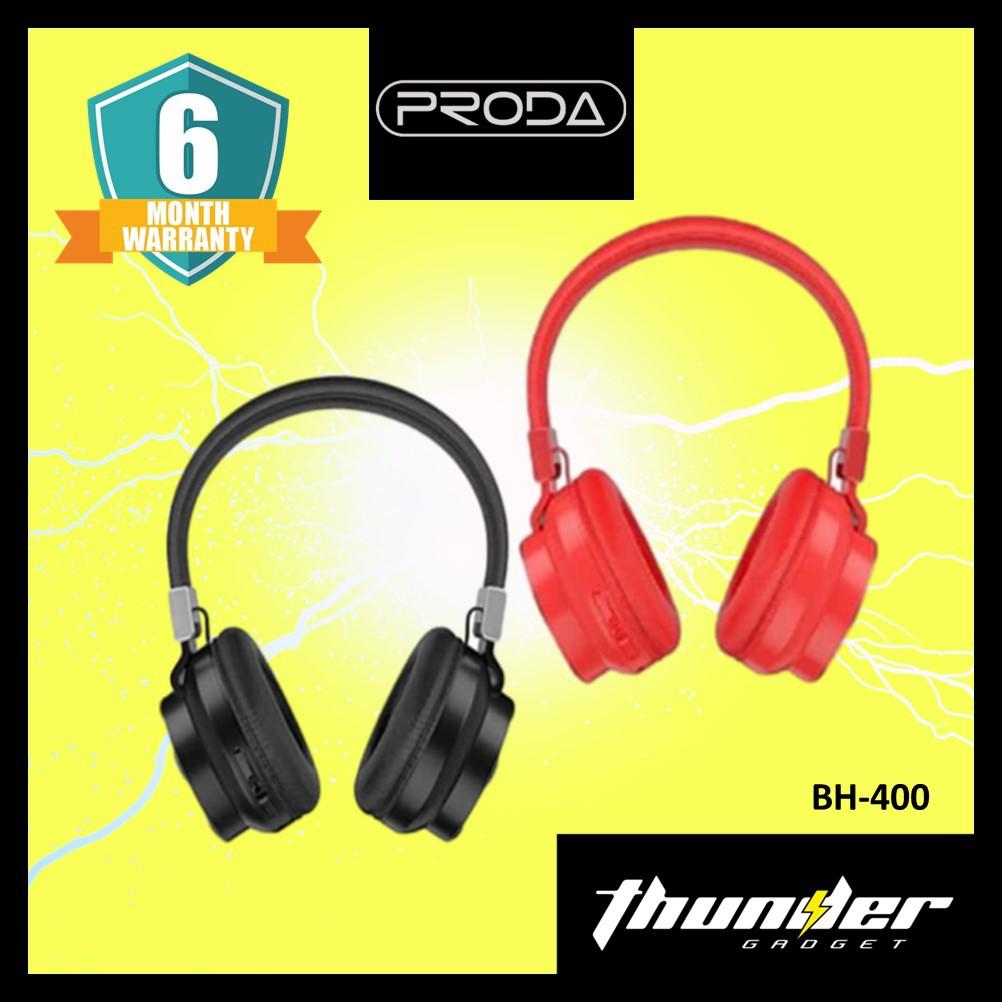 PRODA BH-400 MELO Wireless Headset V5.0