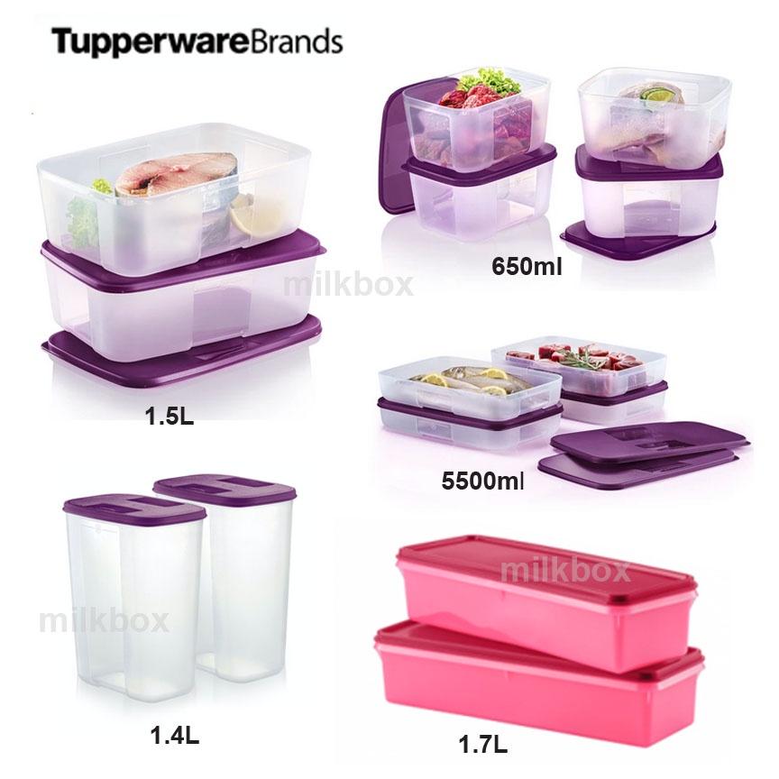 [Tupperware FreezerMate] Small (650ml) / Medium (550ml / 1.5L) / Slim Freezer Keeper (1.7L) / Large Deep Pocket (1.4L)