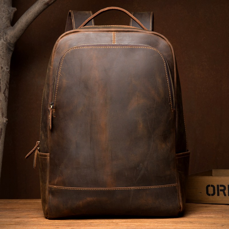 Crazy Horse Genuine Leather Vintage
