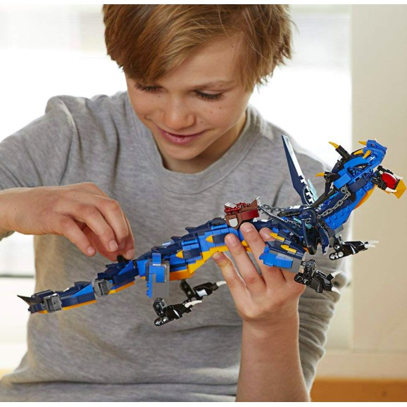 Stormbringer 70652 Ninja Toy Building Kit wit LEGO NINJAGO Masters of Spinjitzu