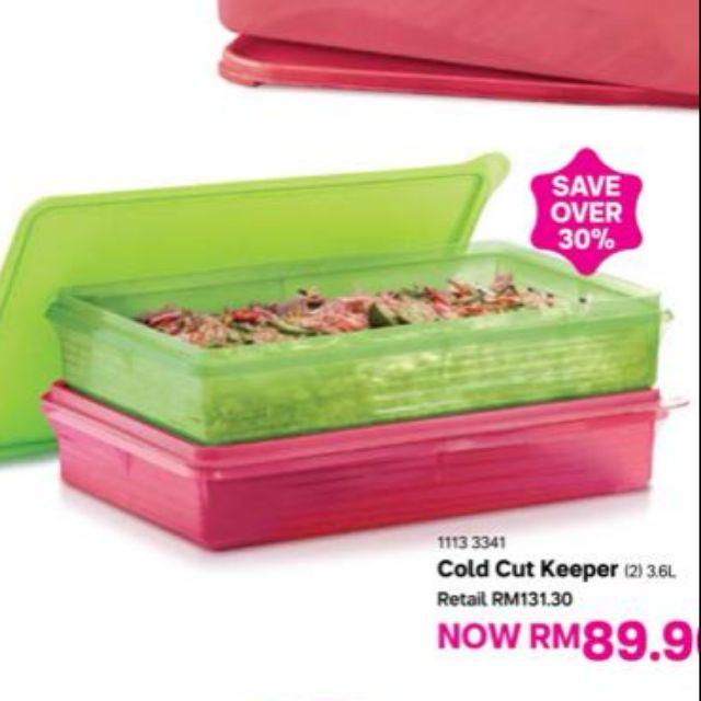 Tupperware Cool Cut Keeper 3.6L Big Storage Container (Pls Choose Colour)