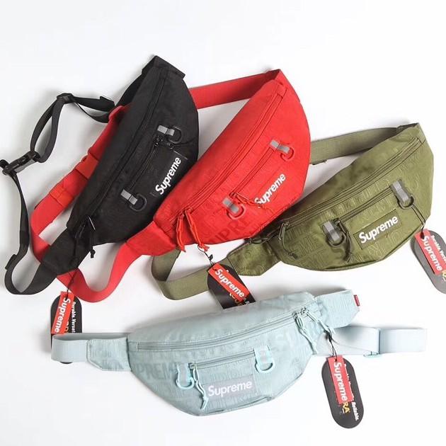 Malaysia Ready Stock] Supreme SS19 Waist Bag Chest Bag Bum Bag