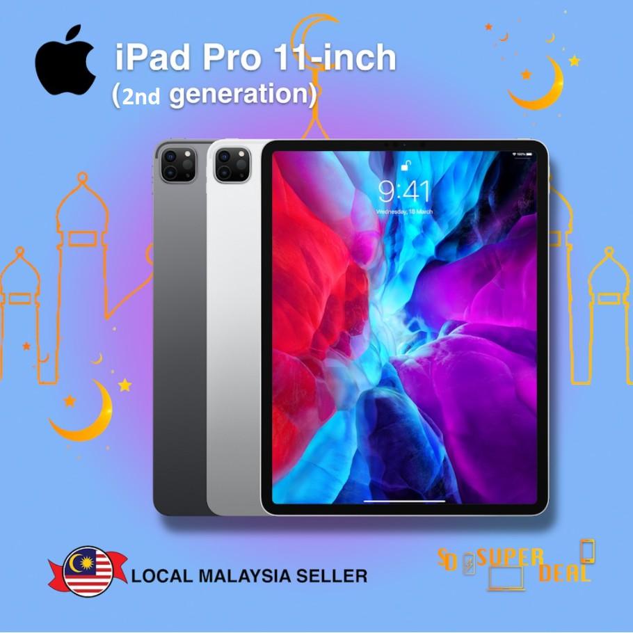 """Apple 11"""" iPad Pro Gen2 (Early 2020) (128GB / 256GB / 512GB / 1TB)"""