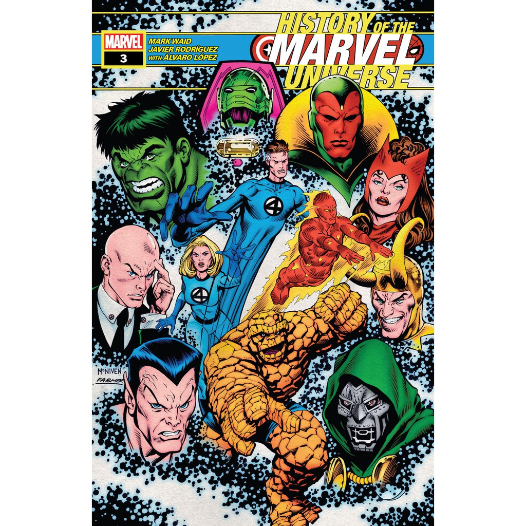 History of the Marvel Universe #1-6