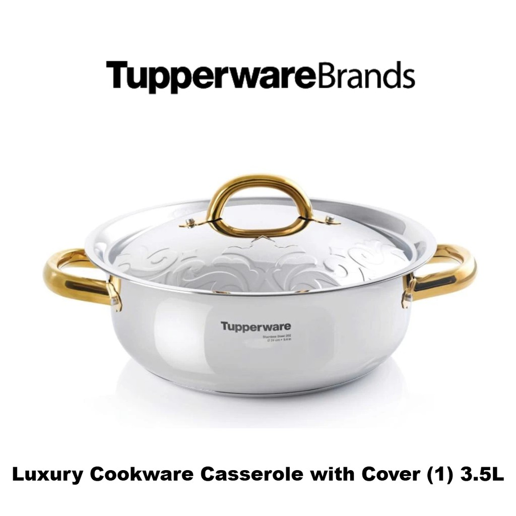 Luxury Cookware Casserole with Cover (1) 3.5L