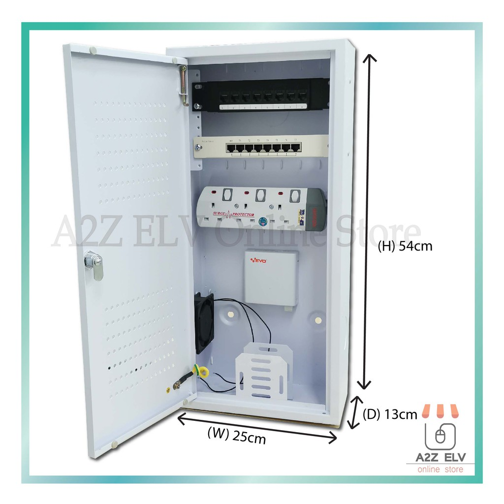 SOHO BOX 2554 (W 250mm x D 130mm x H 540mm)