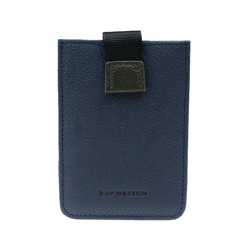 RAV DESIGN Leather Anti RFID Card Holder |RVW641G3(D)