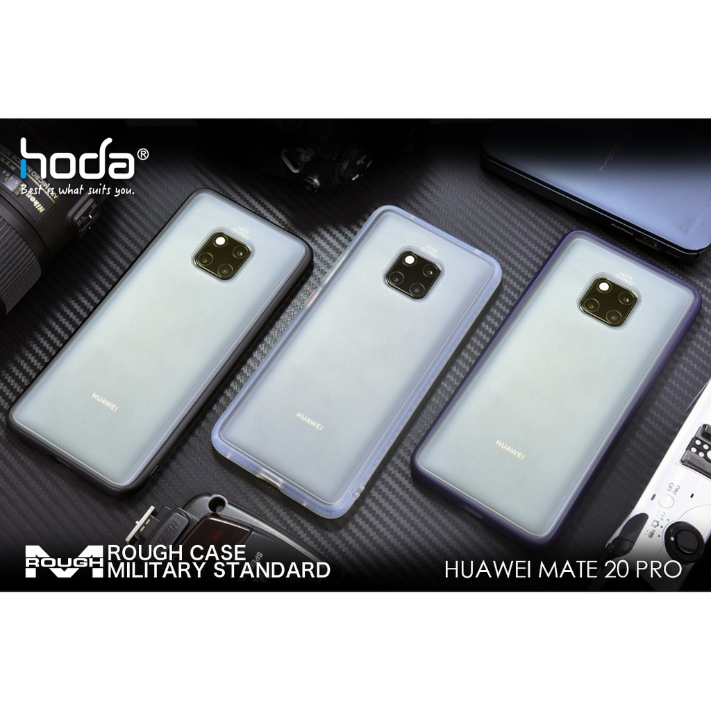 HUAWEI MATE 20 PRO HODA ROUGH CASE MILITARY PROTECTION【💯% ORIGINAL】【READY  STOCK】