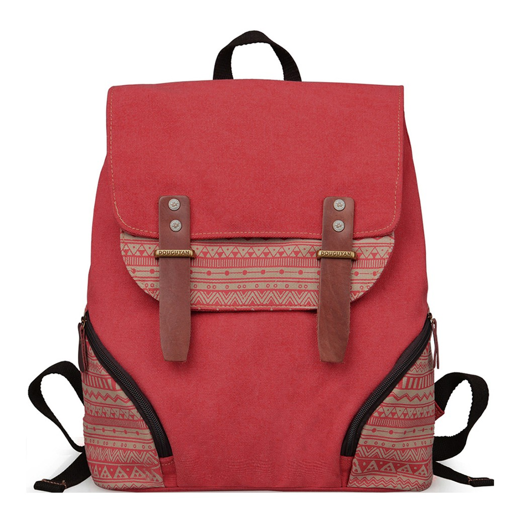 8b76220abe4d Women Vintage Casual Backpack Canvas Campus Backpacks Teens Backpacks