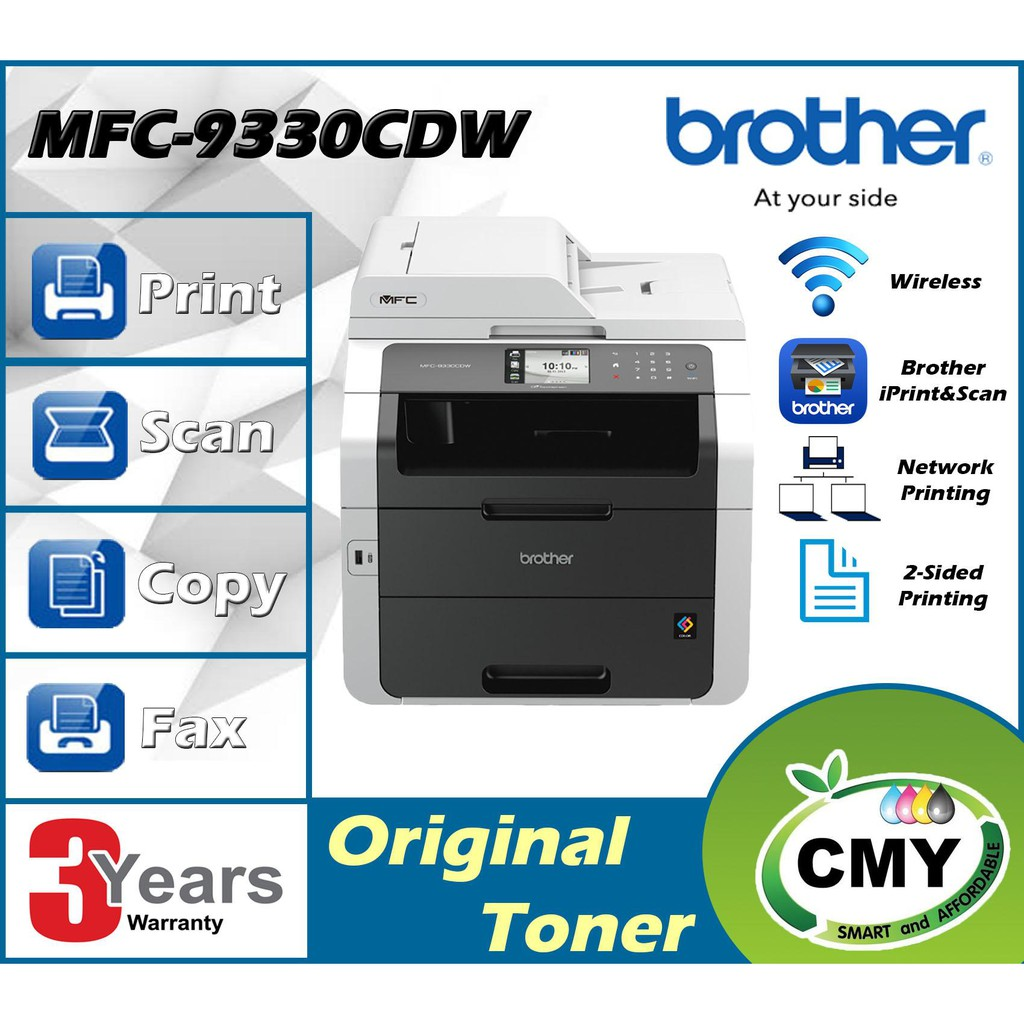 Brother MFC-9330CDW 4-In-1 COLOUR DUPLEX WIFI Laser Printer