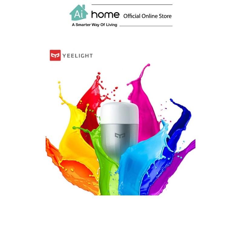 YEELIGHT Smart LED Color E27 [ Light Bulb ] with 6 Months Malaysia Warranty [ Ai Home ]