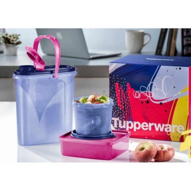 Tupperware Jolly Trio Set