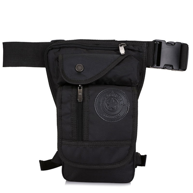 Motorcycle Rider Leg Bag Mens Hip Drop Oxford Tactical Military Waist Fanny Pack