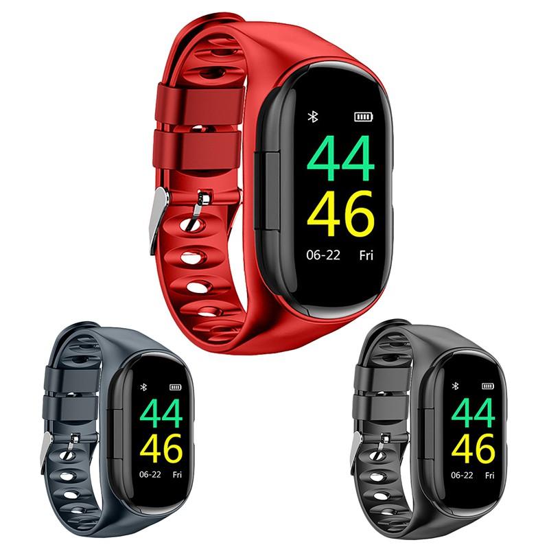 MY COOLMALL Lemfo M1 Newest Ai Smart Watch With Bluetooth Earp Men (Black)