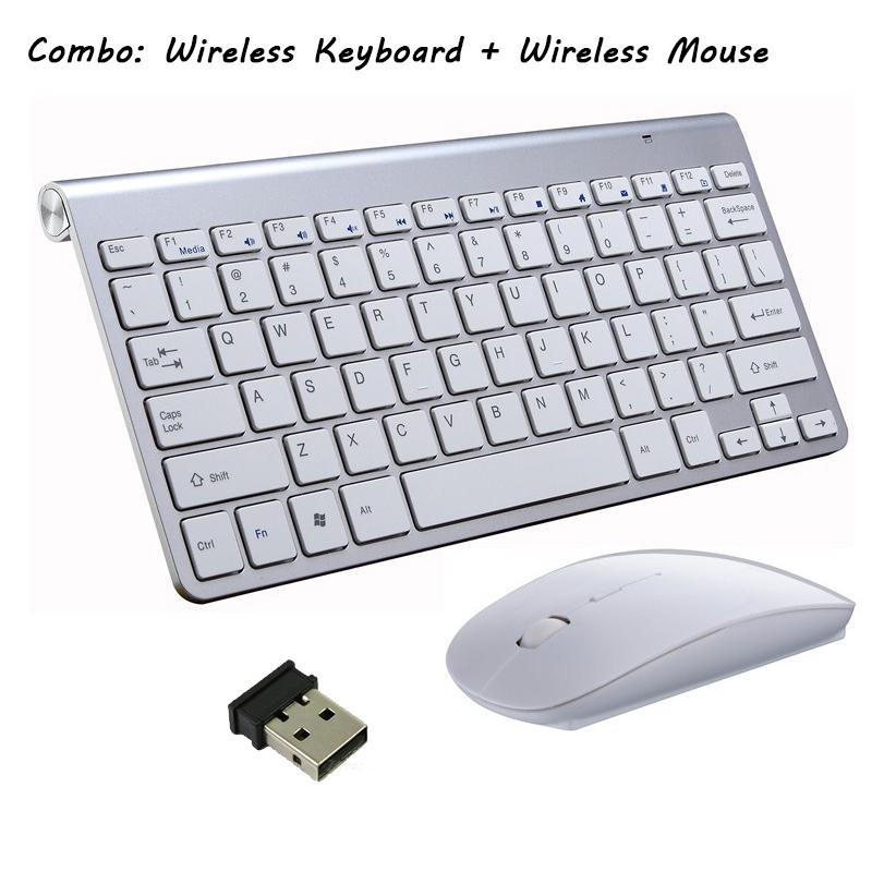 H288 Wireless Keyboard + Mouse Combo, Mini Bluetooth 3 0 Keyboard For  Laptop PC Desktop