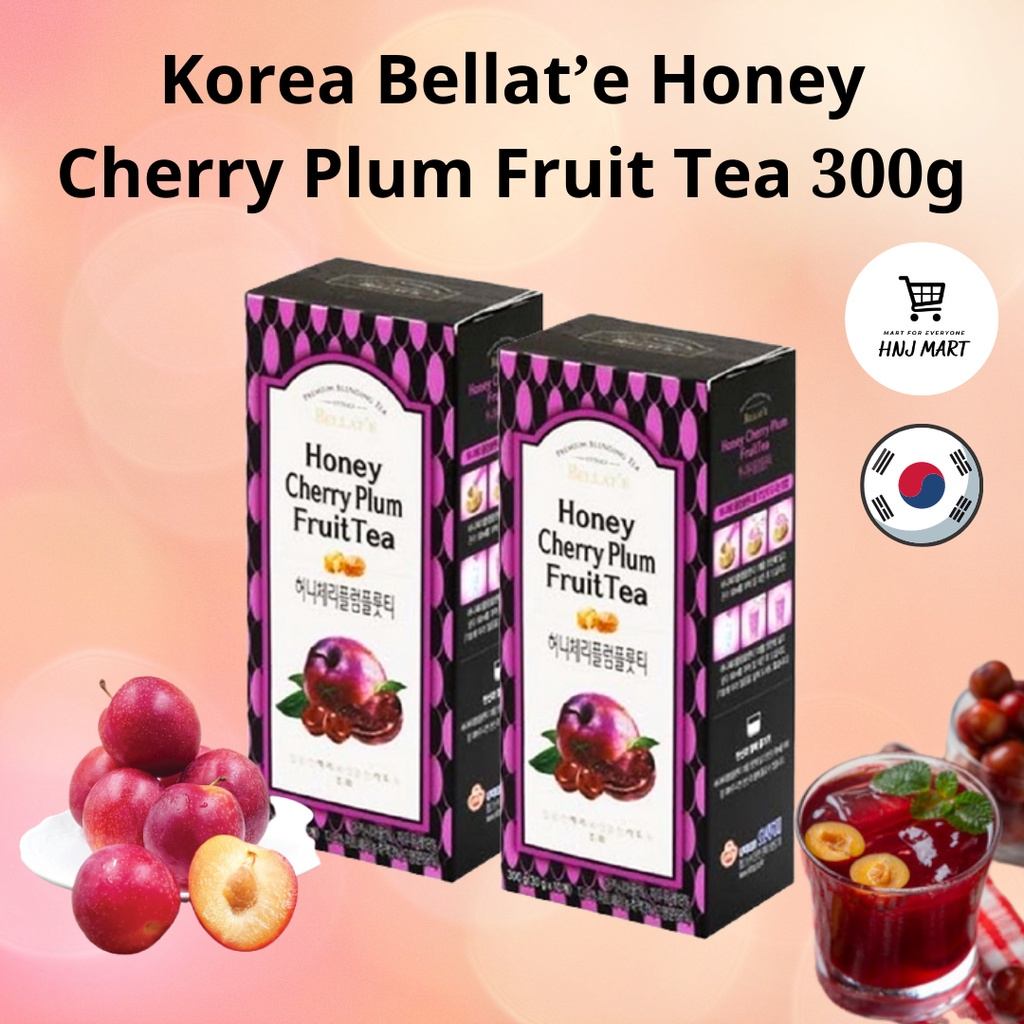 Korea Bellat'e Honey Cherry Plum Fruit Tea 300g