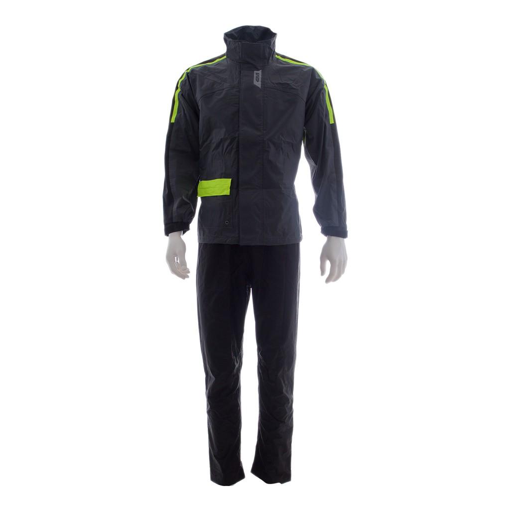 Raincoat GIVI CRS01 Comfort Range Baju Hujan (Grey Yellow)