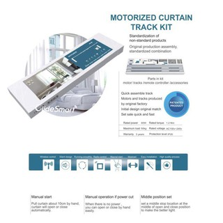 DIY Wifi Smart Automatic Curtain Motor Track System ...
