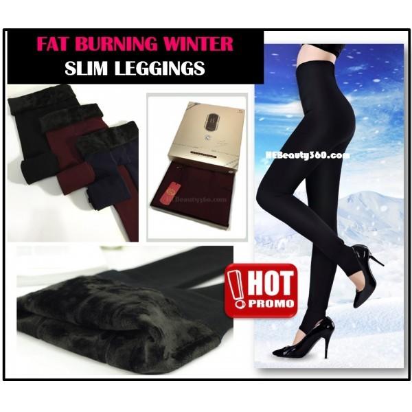 FAT BURNING WINTER COMPRESSION SLIMMING LEGGINGS  68a5f10a11e3